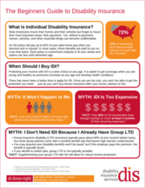 The Beginners Guide to Disability Insurance